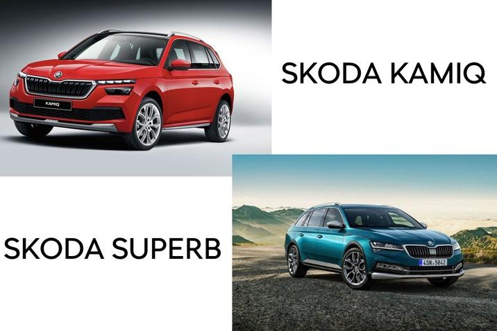 SENKER: SKODA Kamiq & Superb
