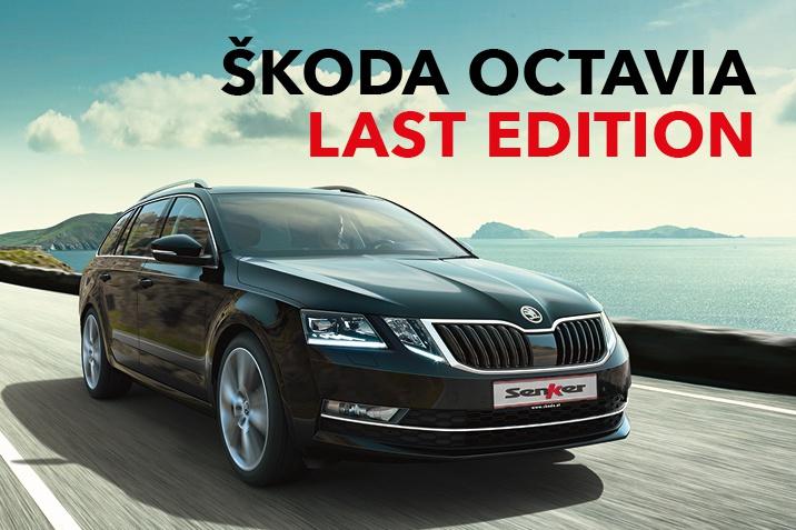 SENKER Skoda Ocatavia Last Edition